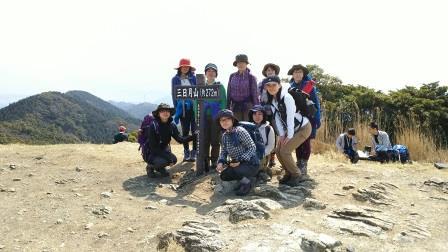 広ーい三日月山頂