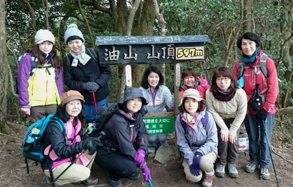 山頂7℃でした